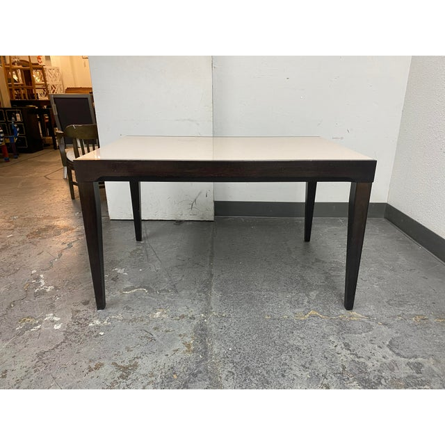 Calligaris Calligaris Extendable Dining Table + Six Chairs Set For Sale - Image 4 of 13