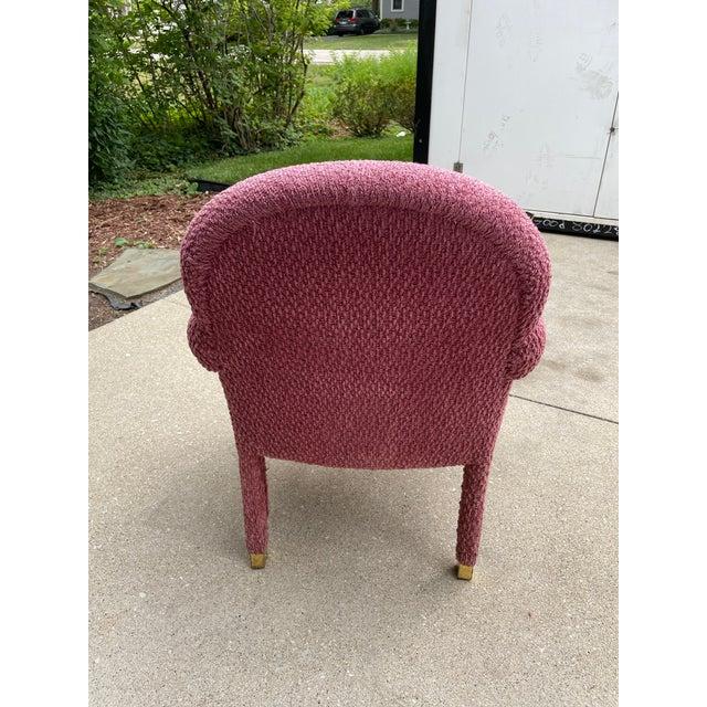 J. Robert Scott J. Robert Scott Upholstered Dining Chair For Sale - Image 4 of 8