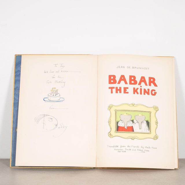 """ABOUT An American 1st edition of """"Babar The King"""". The third Babar book in the series that includes """"The Story of Babar""""..."""