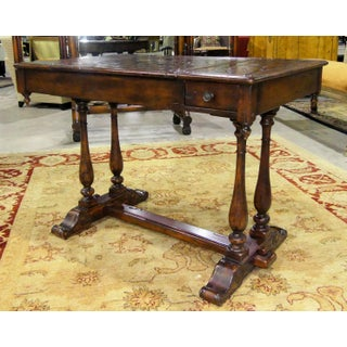 Traditional Theodore Alexander Castle Bromwich Mahogany Game Table Preview