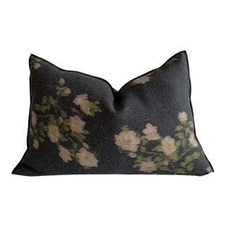 Creme Wabi Sabi Linen Pillow For Sale