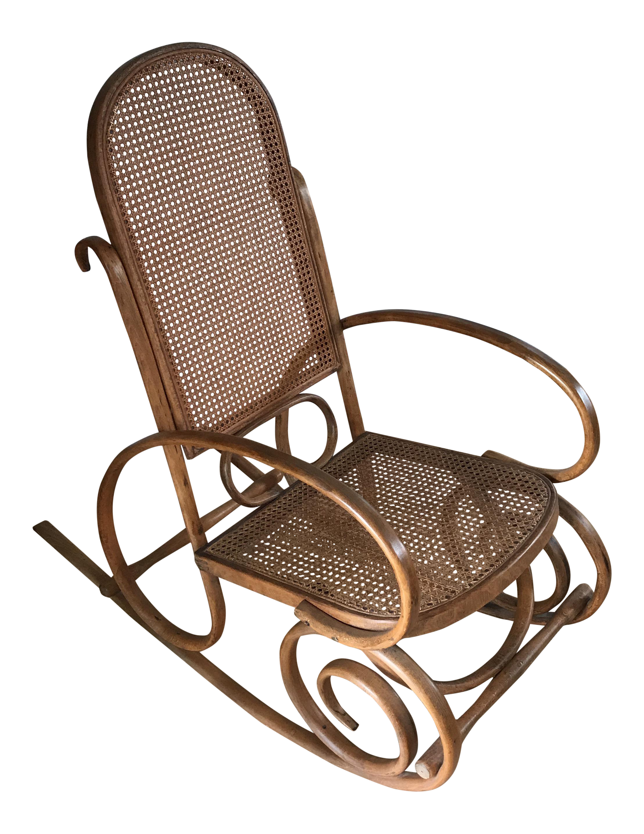 Spanish Bentwood Rocking Chair Rocker