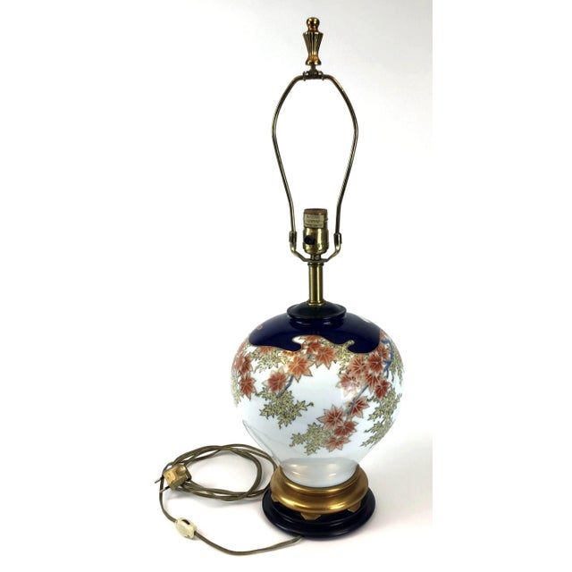 Marbro Japanese Style Porcelain Lamp For Sale - Image 13 of 13
