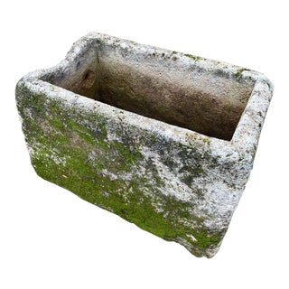 Antique French Garden Trough For Sale