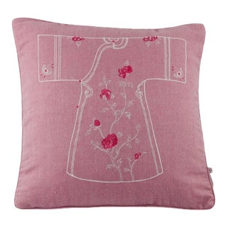 Asian Embroidery Pillow Cover For Sale