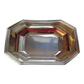 Gorham Sterling Silver Octangular Container For Sale