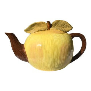 Vintage Apple Fruit Porcelain Pitcher For Sale