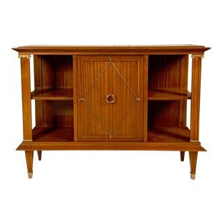 French Art Deco Cuban Mahogany Sideboard Cabinet by Pierre Lardin For Sale