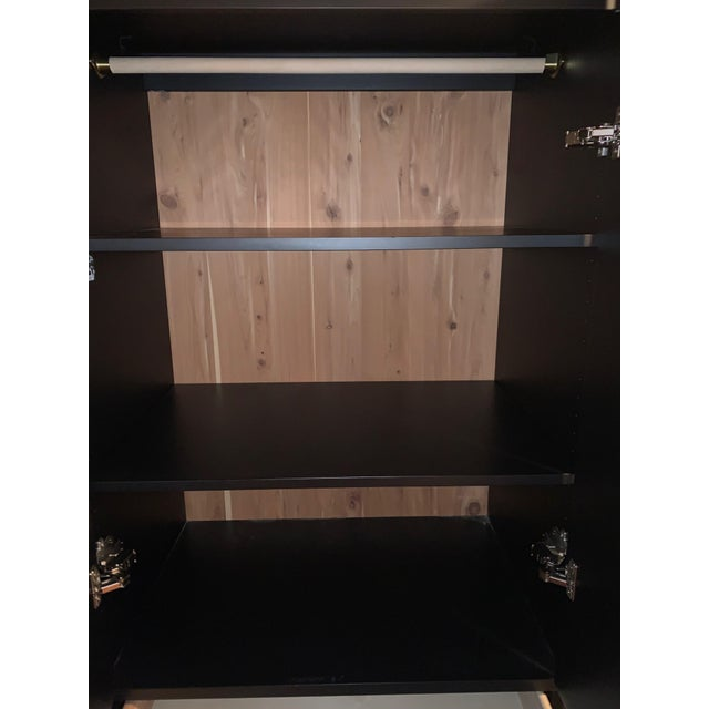 Black Room and Board Calvin Armoire Wardrobe For Sale - Image 8 of 12
