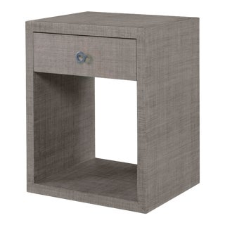 Century Furniture Charleston Small Nightstand, French Grey For Sale