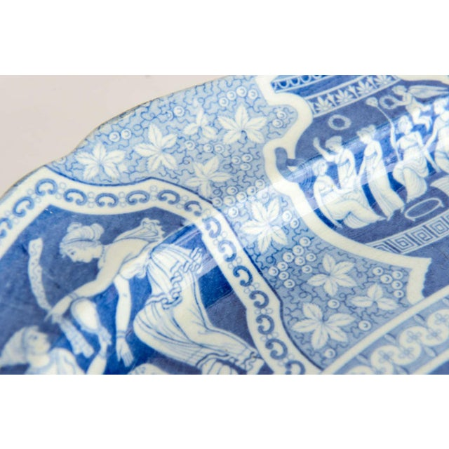 """Mid 19th Century Two Large Spode """"Greek"""" Platters, England, Early 19th Century For Sale - Image 5 of 9"""