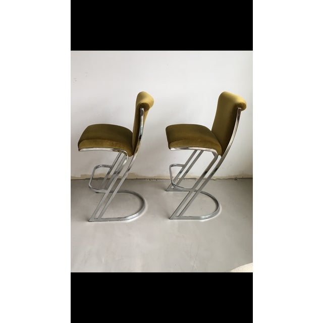 1970's Pierre Cardin Bar Stools - A Pair - Image 3 of 7