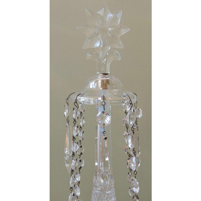 Mid 19th C Anglo-Irish Crystal Girandoles For Sale In Charleston - Image 6 of 8