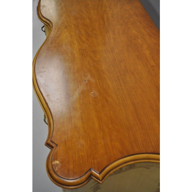 Early 20th Century Antique John Widdicomb French Provincial Style Credenza For Sale In Philadelphia - Image 6 of 13