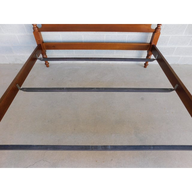 Suter's Reproductions Acorn Poster King Size Bed For Sale - Image 4 of 12