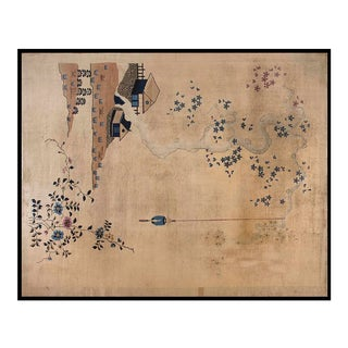"1920s Chinese Art Deco Rug - 8'10""x11'8"" For Sale"