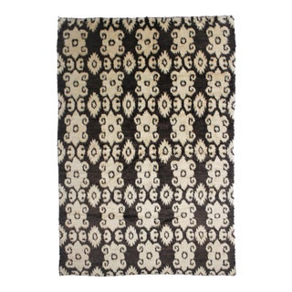 "Hand Knotted Ikat Rug - 11'6"" x 8'10"""