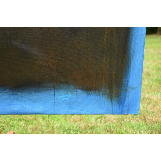 Large Abstract Painting by Stephen Remick For Sale - Image 9 of 11