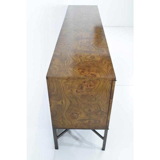 Roger Sprunger for Dunbar Burled Olivewood Sideboard or Credenza For Sale - Image 10 of 13