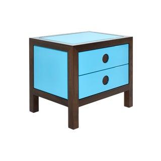 Naula Vizo Turquoise Nightstand For Sale