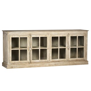 White Wash Reclaimed Wood Sideboard