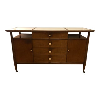 MCM Landstrom Buffet With Vitrolite Top For Sale