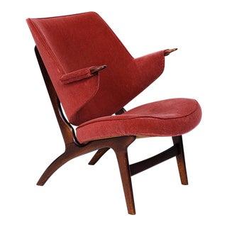 Danish Lounge Chair For Sale