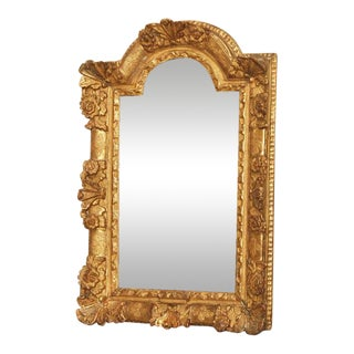 Louis XIV Gilt Wood Mirror For Sale