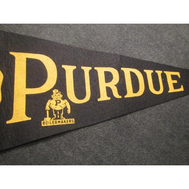 Vintage Purdue University Pennant - Image 3 of 9