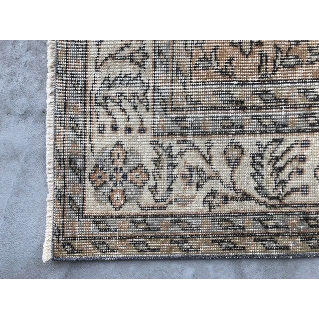 1960s Turkish Oversize Handmade Carpet For Sale - Image 9 of 10
