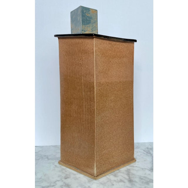 Contemporary 1990s Large Contemporary Architectural Ceramic Sculpture For Sale - Image 3 of 10