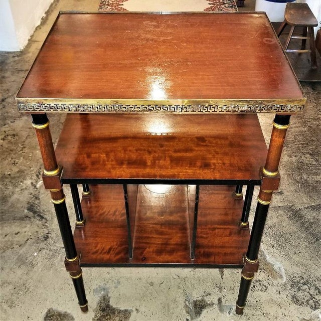 Empire Style Canterbury Side Table For Sale - Image 13 of 13