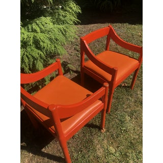 "1960s Vintage Vico Magistretti ""Carimate"" Chairs for Cassina- A Pair Preview"