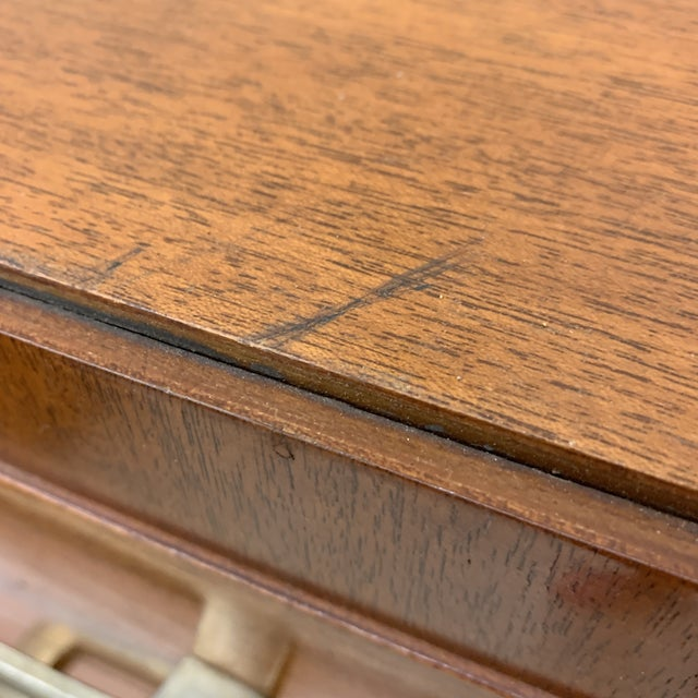 Wood Don Draper High Boy Chest For Sale - Image 7 of 13