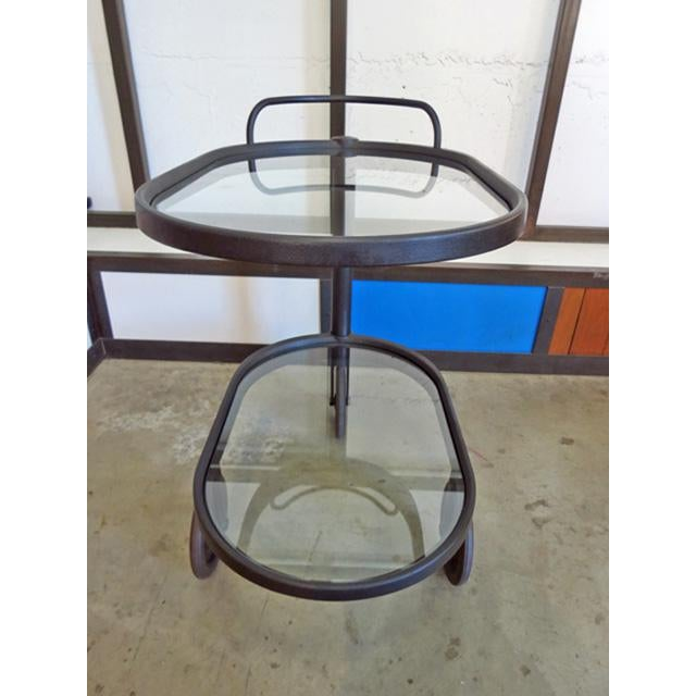 1980s Mid Century Modern Enzo Mari for Alessi Bar/Tea Cart For Sale In Seattle - Image 6 of 8