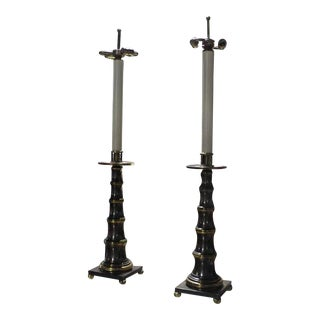 Pair of Large Stiffel Table Lamps For Sale