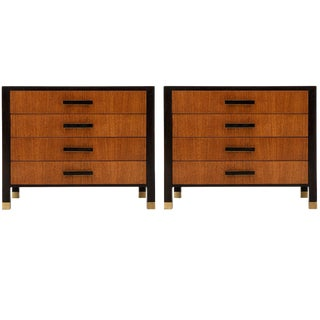 Pair of Harvey Probber Nightstands or Ends Cabinets For Sale