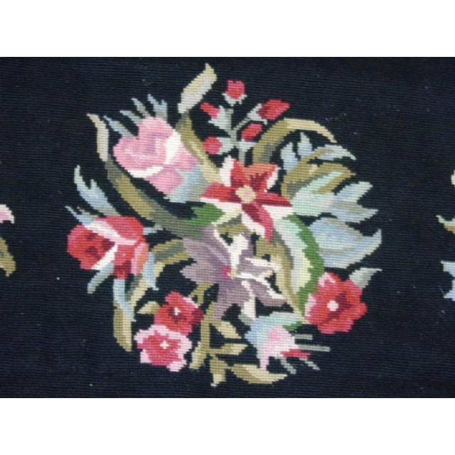 Floral Aubusson French Style Rug - 3′8″ × 5′8″ - Image 4 of 4