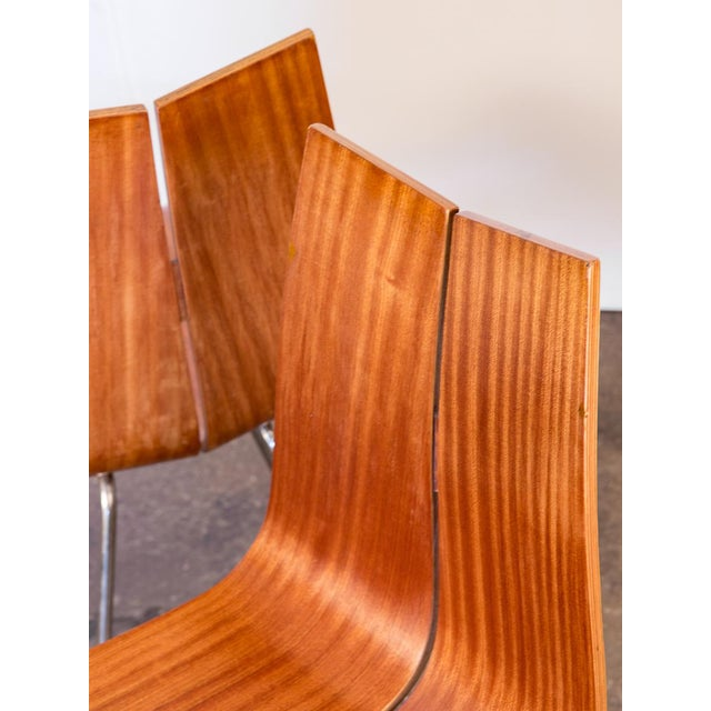 1960s Hans Bellmann GA Molded Dining Chairs - a Pair For Sale - Image 5 of 11