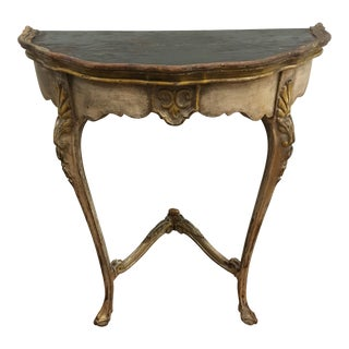 1900s Mediterranean Console Table For Sale