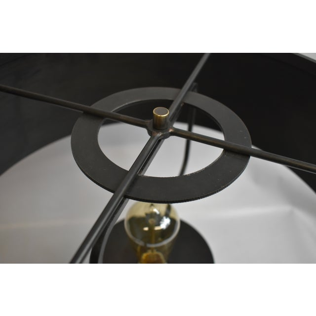 2010s Black Berlin Table Lamp With Shade For Sale - Image 5 of 6