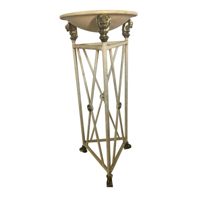 Neoclassic Style Pedestal Table or Planter For Sale