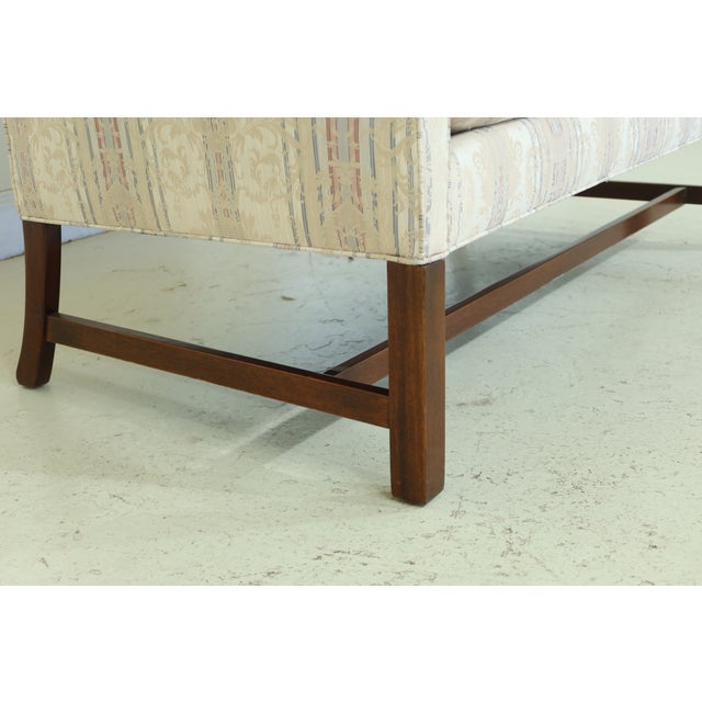 Chippendale Southwood Chippendale Mahogany Loveseat For Sale - Image 3 of 13