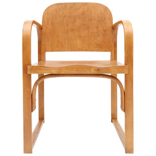 Plywood Armchair Early 20th Century by Tatra For Sale