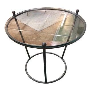 Transitional Bernhardt Cortland Side Table For Sale
