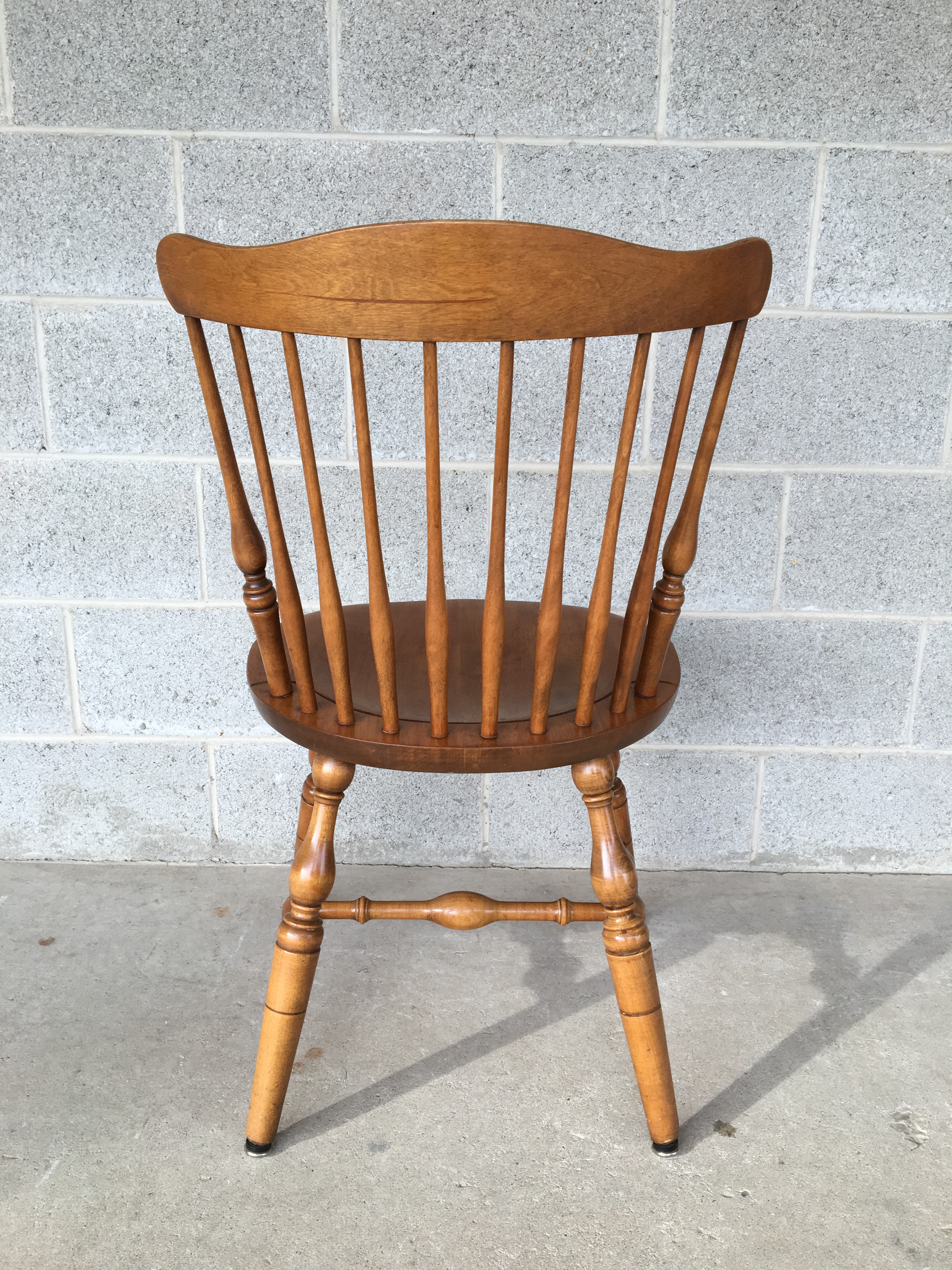 Wood S. Bent Bros. Windsor Governor Bradford Style Maple Chairs - Set of 4  sc 1 st  Chairish & S. Bent Bros. Windsor Governor Bradford Style Maple Chairs - Set of ...