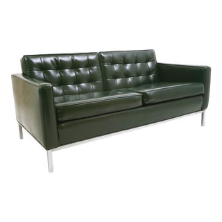 Early Florence Knoll Love Seat For Sale