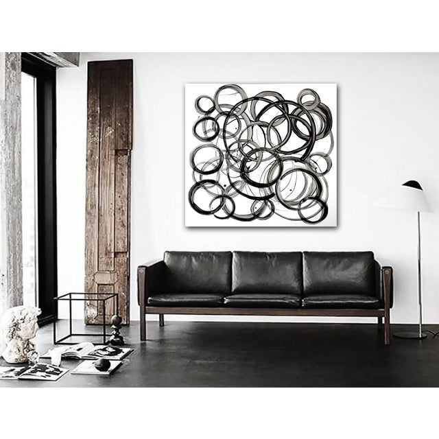 'Stories' Original Abstract Painting by Linnea Heide - Image 6 of 7