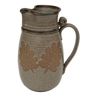 1970's Studio Pottery Pitcher For Sale