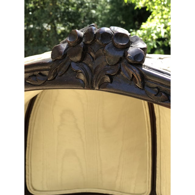 Early 20th Century Louis XV Style Porter's Chair of Walnut For Sale - Image 4 of 13